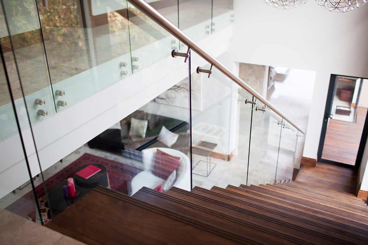 professional frameless glass balustrades steel studio. Black Bedroom Furniture Sets. Home Design Ideas