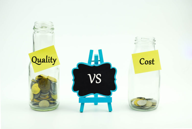 Quality vs Cost