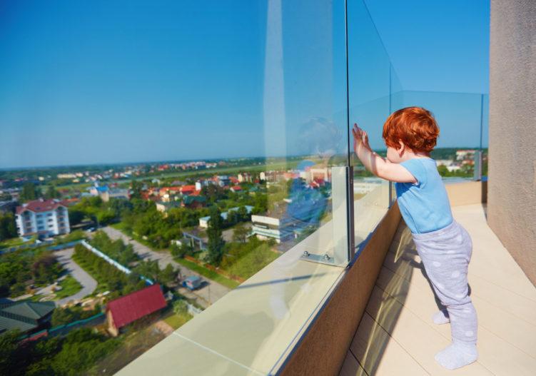 Safety of frameless glass balustrades
