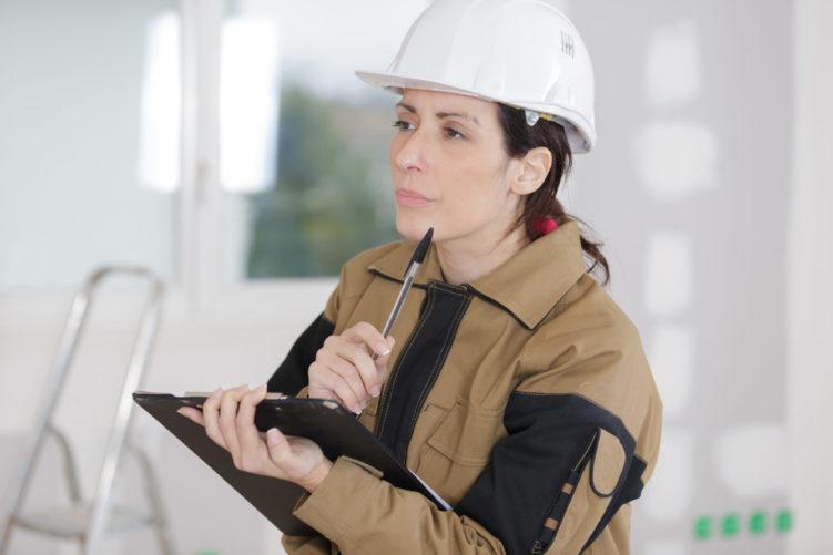 Inspection on glass balustrade