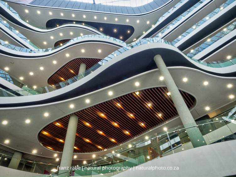 Discovery place glass balustrades